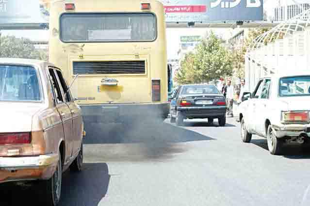 فرسودگی 70 درصد خودروهای گازوییل سوز تهران