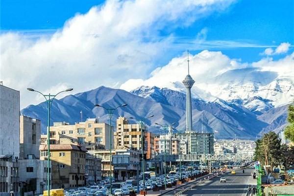 امروز 23 بهمن ماه 1397 تهران هوای پاک دارد