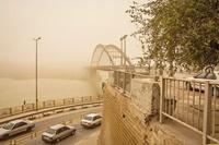 خاک شمال آفریقا درآسمان اهواز