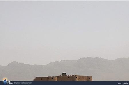 گرد و غبار در آسمان خرم آباد