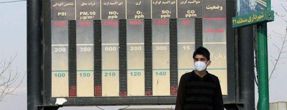 امروز 21 دی ماه شاخص آلودگی هوا سالم